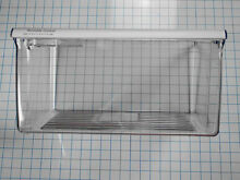 2188656 Whirlpool Kitchen Aid Kenmore Clear Crisper Pan Bin NEW Genuine