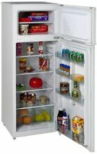Apartment Refrigerator Glass Storage Shelf Dorm Office 7 4 cu ft Compartments