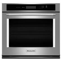 KitchenAid 27  Stainless Steel Single Wall Oven   KOST107ESS