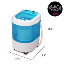 Portable Washing Machine 8 8LBS Laundry Washer Spin Wash Mini Small Easy Operate
