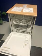 Kenmore Portable Dishwasher  Barely Used with Under Cabinet Kit