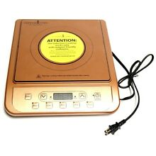 Copper Chef KC16067 00300 Portable Induction Cooktop Electric Countertop Burner