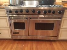Viking Professional Range 48  two ovens  excellent condition