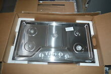 Whirlpool WCG51US6DS 36  Stainless 5 Burner Gas Cooktop NOB  26747 HL