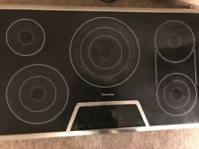 Thermador CET366FS 36 Masterpiece Electric Cooktop Black
