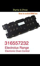 New OEM Electrolux Range Electronic Oven Control 316557232