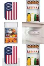Mini Fridge Shelves Retro Series 3 8 Cubic Foot USA Refrigerator with Freezer