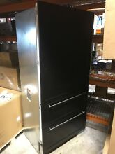 EXCELLENT USED SUB ZERO 736TCI REFRIGERATOR W  BOTTOM FREEZER