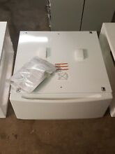 GE 13 Inch Tall white Pedestal For Front Load Washer Dryer SBSD137 New