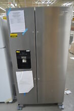 Whirlpool WRS325SDHZ 36  Stainless Side by Side Refrigerator NOB  27594 HL