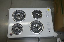 Whirlpool WCC31430AW 30  White Coil Electric Cooktop NOB  27699 HL