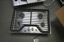 Whirlpool WCG97US0DS 30  Stainless Natural Gas Cooktop NOB  27721 HL