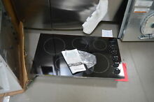 Frigidaire FFEC3624PS 36  Stainless Electric Smoothtop Cooktop NOB  27823 HL