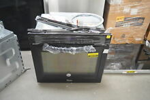 Whirlpool WOS51EC0AB 30  Black Single Electric Wall Oven NOB  27836 HRT
