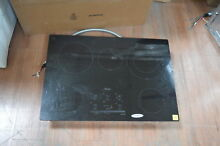 Whirlpool G9CE3065XB 30  Black Smoothtop Electric Cooktop NOB  27872 HL