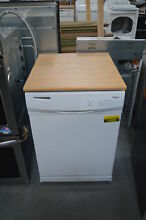 Whirlpool WDP350PAAW 24  White Portable Full Console Dishwasher NOB  27973 HL