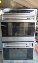 WOLF L SERIES  DO30U S 30  DOUBLE WALL OVEN
