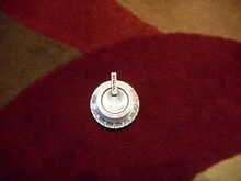 Robertshaw GAS OVEN CONTROL KNOB White Vintage Stove New Old Stock Flame Master