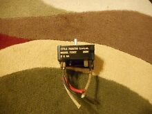 Frigidaire Gibson Burner Control Switch Stove Range 7525720 Vintage GM Made USA