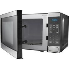 Mainstays 0 7 Cu Ft Microwave Oven  Stainless Steel NEW
