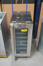 Viking VWUI5150GRS 15  Stainless Undercounter Wine Cellar NOB  28013 HL
