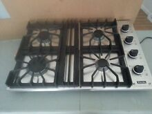 Viking 30  Propane Cooktop Model  VGSU1014BSSLP