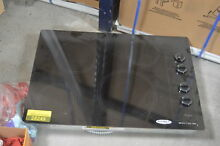 Whirlpool W5CE3024XB 30  Black Smoothtop Electric Cooktop NOB  28033 HL