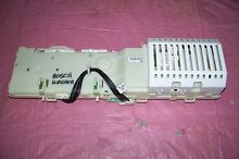 OEM BOSCH WASHER CONTROL BOARD   05011083570000580 SEE PICTURES
