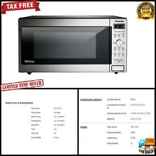 Panasonic Built In Microwave Oven food cooking 1250 Watt Kitchen LED Display