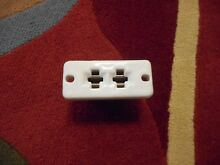 GE Oven Socket Receptacle Block Bake Element Stove Range Vintage Ceramic 276C332