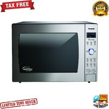Panasonic 2 2 cu  ft Microwave Oven cooking heated food 1250 Watt LED Display