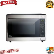Panasonic 1 6 cu  Ft Built In Microwave Oven 1250 Cooking watt Kitchen LED