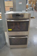 GE JK3500SFSS 27  Stainless Double Electric Wall Oven NOB  28067 HL