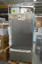 KitchenAid KBBR306ESS 36  Stainless Built In Bottom Refrigerator NOB  28107 HL