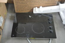 GE JP3030DJBB 30  Black Smoothtop Electric Cooktop NOB  28181 HL