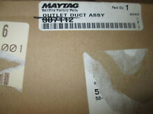 Whirlpool Dryer Duct Assembly 307112  33001016