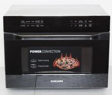Samsung MC12J8035CT Black Stainless Steel Convection Microwave oven 1 2 CuFt N 1