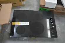 Whirlpool WCE55US0HB 30  Black Electric Ceramic Glass Cooktop NOB  28216 HL