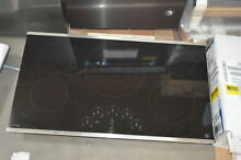 GE PP9036SJSS 36  Stainless 5 Burner Electric Cooktop NOB  28254 HL