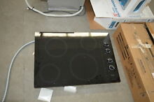 Whirlpool W5CE3024XB 30  Black Smoothtop Electric Cooktop NOB  28312 HL