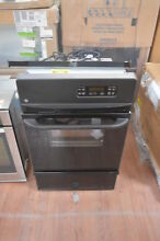 GE JGRP20BEJBB 24  Black Single Gas Wall Oven NOB  28353 HL