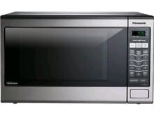 Panasonic 1 2  Cu  Ft Store Display Unit Non Working Microwave Oven Film Prop