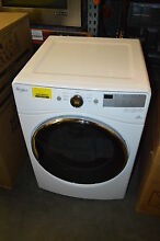 Whirlpool WED8540FW 27  White Front Load Electric Dryer 7 4 Cu Ft   13049 T2 CLW