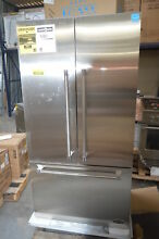 DCS RF201ACJSX1 36  Stainless French Door Refrigerator NOB CD  28608 HL