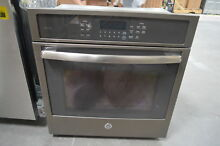 GE PK7000EJES 27  Slate Single Electric Wall Oven 4 3 Cu Ft NOB  28522 HL