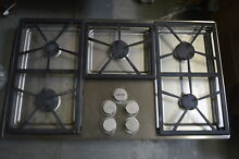 Dacor DTCT365GSN 36  Stainless 5 Burner Gas Cooktop  28633 HL