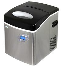 OpenBox  NewAir AI 215SS   Portable  Countertop Ice Maker   50 Lbs   Stainles