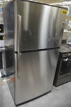 GE GTE21GSHSS 33  Stainless 21 2 cu ft Top Mount Freezer Refrigerator  28681 CLW