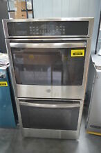 GE JK5500SFSS 27  Stainless Double Electric Wall Oven w  Convection NOB  28733