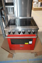 Viking VER5304BAR 30  Apple Red Freestanding Electric Range NOB  23626